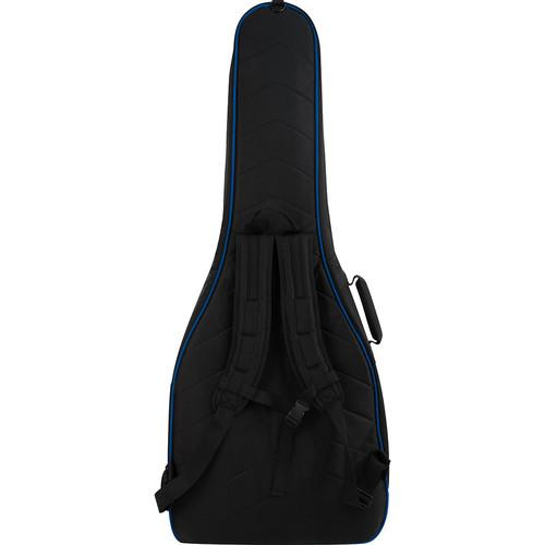Ultimate Support Ushb2-Ag-Bl Hybrid Series 20 Acoustic Guitar Bag Black With Blue Trim