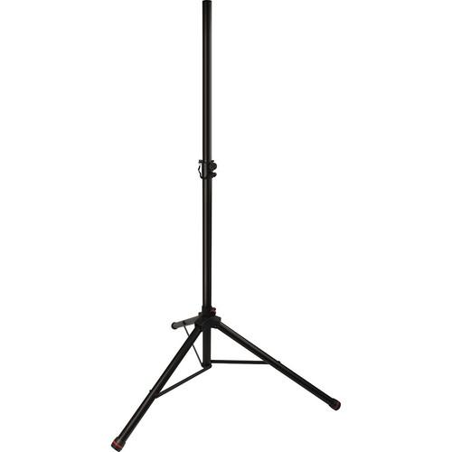 Ultimate Support Ts50-2C  Tripod Speaker Stands With Colored Accent Bands Pair - Red One Music