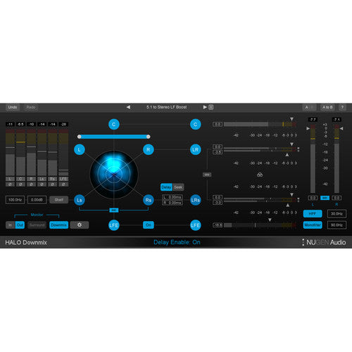 NuGen Audio Halo Downmix - Surround to Stereo Downmixer Plug-In (Download)