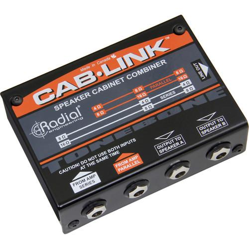 RADIAL ENGINEERING CAB-LINK R800 7088 INSTRUMENT-SELECTOR PEDAL FOR ELECTRIC GUITARS AMP BASSES
