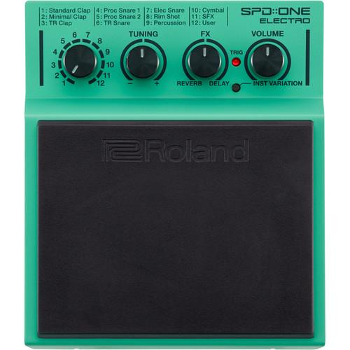 Roland SPD-1E Spdone Electro Digital Percussion Pad - Red One Music