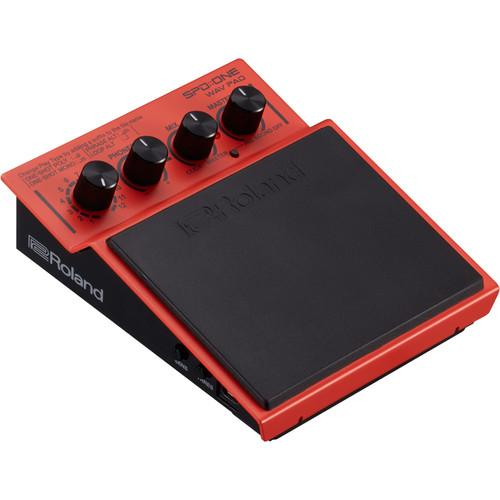 Roland SPD-1W Rolandspdone Pad Wav Pad Percussion Pad - Red One Music