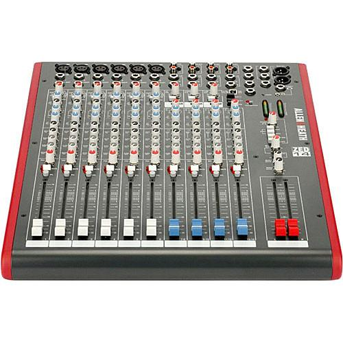 Allen  Heath Zed-14 14-Channel Recording And Live Sound Mixer With USB Connection - Red One Music