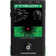 Tc Helicon Voicetone D1 Doubling Detune Pedal - Red One Music