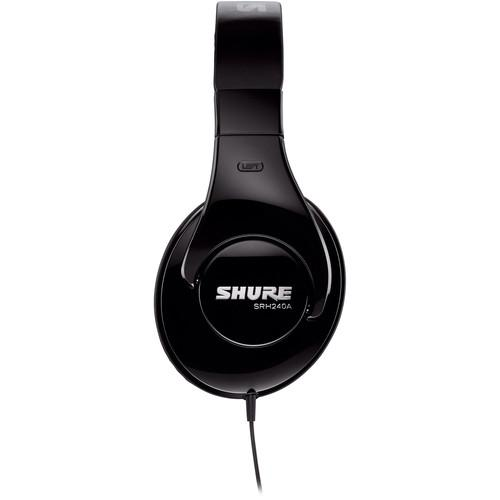 Shure Srh240A  Professional Around-Ear Stereo Headphones
