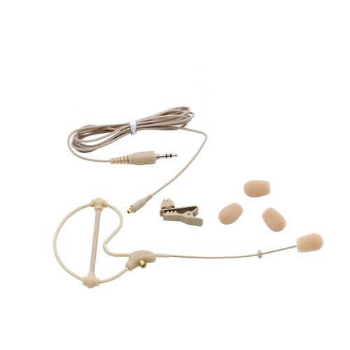 Samson Swas5Cs Omnidirectional Micro Headset Microphone Beige - Red One Music
