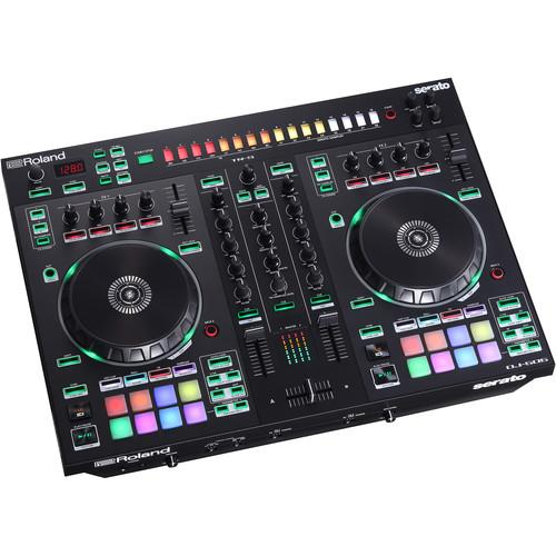 Roland DJ-505 2-Channel 4-Deck Dj Controller For Serato Dj - Red One Music
