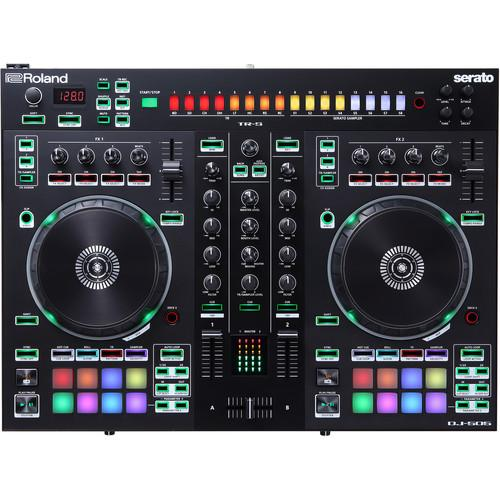 Roland Dj-505 2-Channel 4-Deck Dj Controller For Serato Dj * DEMO *