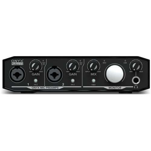 Mackie Onyx Producer 2 • 2 Interface audio USB 2x2 avec MIDI - Red One Music