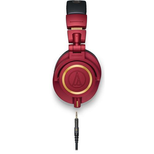 Audio-Technica Ath-M50X Limited Edition Red Monitor Headphones Limited Edition Red