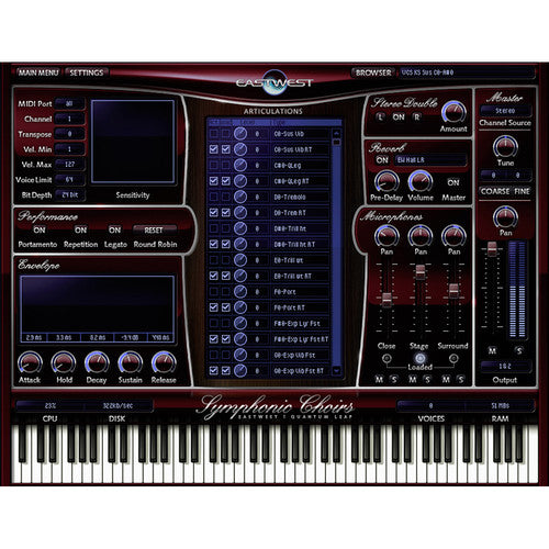 EastWest Sound Hollywood Choir Diamond Edition - Virtual Instrument Plug-In (Download)