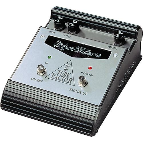 Hughes And Kettner Tube Factor Booster Overdrive Pedal - Red One Music