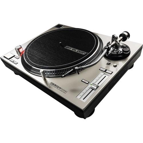 Reloop RP-7000-MK2 Silver High Torque Turntable - Red One Music