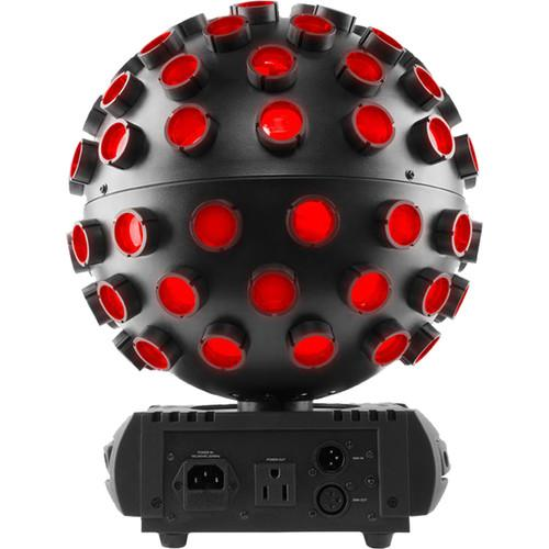 Dj Chauvet Rotosphere Q3 White Mirror Ball Simulator - Red One Music