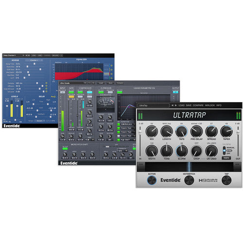 Eventide Ultra Essentials Bundle - Audio Tracking and Mixing Plug-Ins (Download)