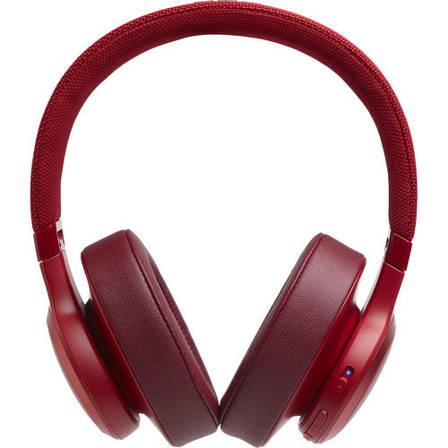 JBL LIVE 500BT Wireless Over-Ear Headphones (Red)