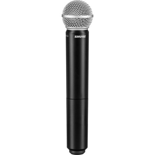 Shure BLX288/PG58-H10 Dual-Channel Wireless Handheld Microphone System with PG58 Capsules (H10: 542 to 572 MHz)