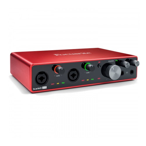 Interface audio USB Focusrite SCARLETT 8I6 3RD GEN - Red One Music