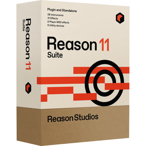 Reason Studios Reason 11 Suite Music Production Software (Download)