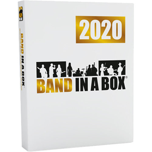 PG Music Band-in-a-Box 2020 Pro - Automatic Accompaniment Software, Windows (Download)