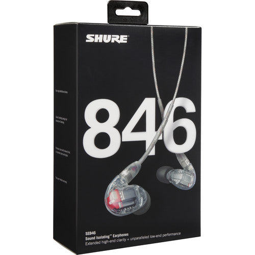 Shure SE846-CL Sound Isolating Earphones - Red One Music