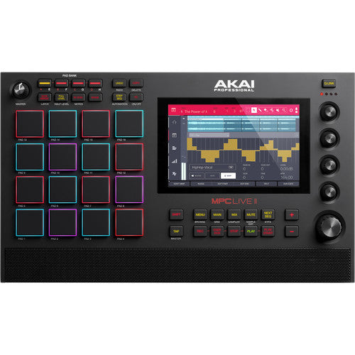 Akai MPC LIVE II Music Production System with Built-in Monitors