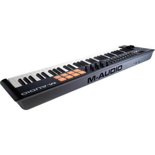 Clavier MIDI USB M-Audio Oxygen 61 Iv - Red One Music