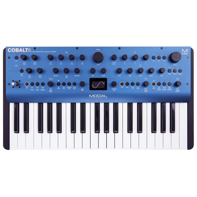 Modal Electronics COBALT8 8-voice Extended Virtual Analog Synthesizer - 37-Keys