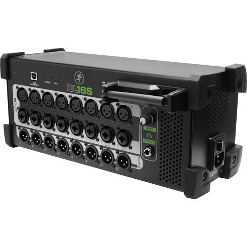 Mackie DL16S 16-Channel Wireless Digital Live Sound Mixer - Red One Music