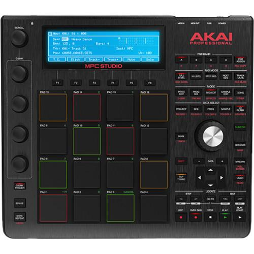 Akai Mpc Studio Black Contrôleur de production musicale Noir - Rouge One Music