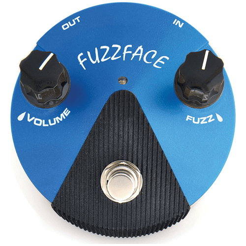 Dunlop Ffm1 Fuzz Face Mini Distortion Effect Pedal - Red One Music