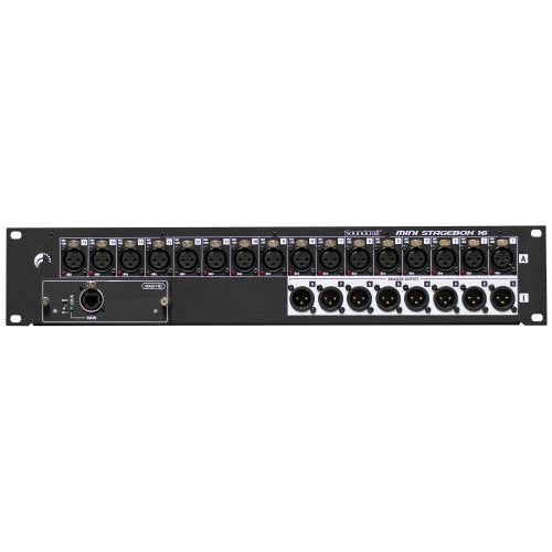 Soundcraft MSB-16 Mini Stagebox 16R - Red One Music