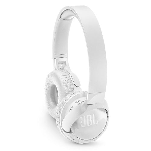 JBL TUNE 600BTNC Wireless On-Ear Headphones with Active Noise Cancellation (White) - Red One Music