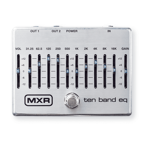 Mxr M108S Ten Band Eq Pedal - Red One Music