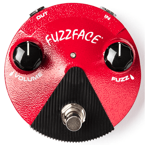 Dunlop Ffm2 Fuzz Face Mini - Rouge - Red One Music