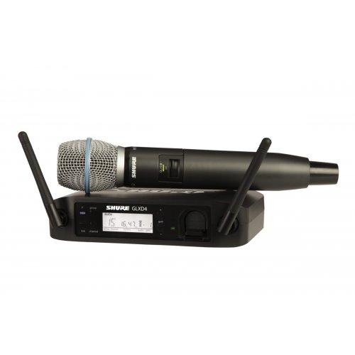 Shure Glxd24/B87A-Z2 Wireless Handheld Mic System - Red One Music