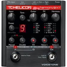 TC HELICON VOICETONE HARMONY-G XT TC HELICON VOICETONE HARMONY-G XT VOCAL EFFECTS PROCESSOR
