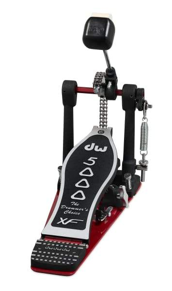 DW Hardware DWCP5000AD4XF Extended Footboard Accelerator Single Bass Drum Pedal