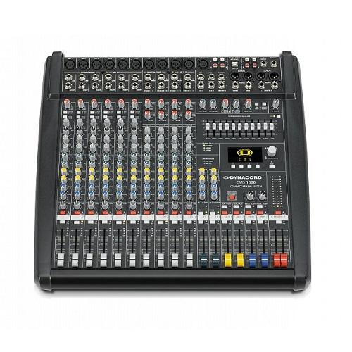 Dynacord Cms 1000-3 In-Stock 10-Channel Compact Mixing System