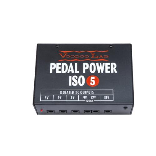 Alimentations Voodoo Lab Power Pedal Power Iso-5 - Red One Music