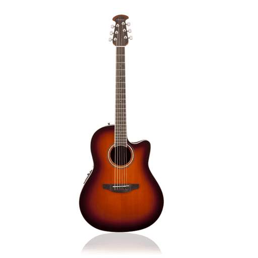 Ovation 2771Ax-1 Balladeer 2711 Ax Acoustic-Electric Guitar Sunburst - Red One Music
