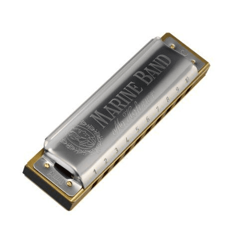 Hohner 1896Bx-Mg# Hohner 1896Bx-Mg Marine Band Harmonica Boxed Minor Key Of G - Red One Music
