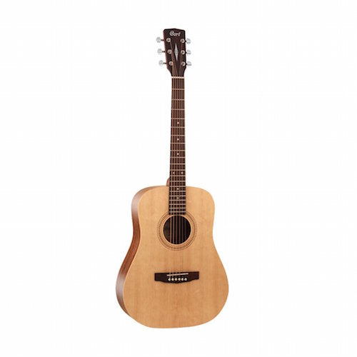 Cort EARTH 50 OP 6 String Acoustic Guitar, Right Handed, 7/8 Dreadnought - Red One Music