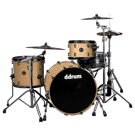 DDrum MAX BC 14X24 SN MAX 3PC Satin Natural 24 Inch Bass Drum 2016 Santin Natural - Red One Music