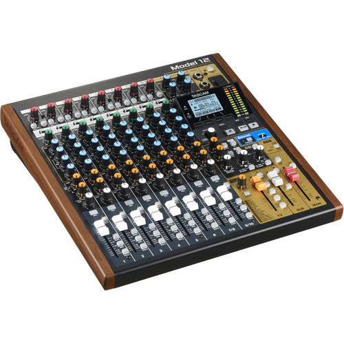 Tascam Model 12 Integrated Production Suite Mixer / Recorder / USB Interface - Red One Music