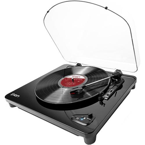 Platine vinyle sans fil Ion Air Lp avec connexion USB - Red One Music
