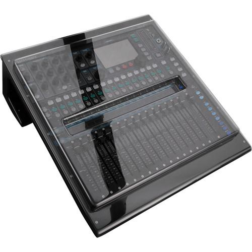 Decksaver DSP-PC-QU16 Cover Cover Decksaver Pro Cover For Allen & Heath Qu 16 Digital Mixer - Red One Music