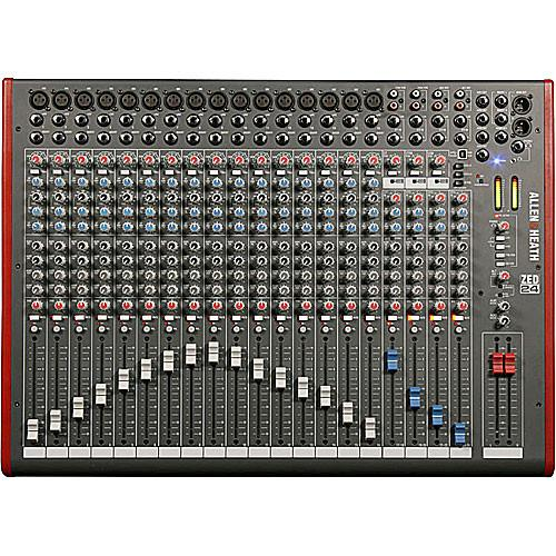 Allen  Heath Zed-24 24-Channel Recording And Live Sound Mixer With USB Connection - Red One Music