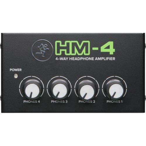 Mackie Hm-4 Amplificateur casque 4-Way Amplificateur casque 4-Way