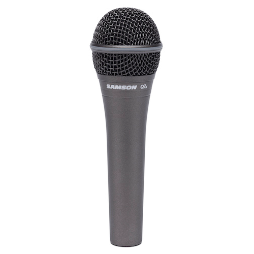 Samson Q7X Supercardoid Dynamic Mic - Red One Music